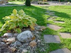 Дорожки - изюминка вашего сада