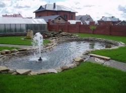Декоративный фонтан своими руками - элемент декора двора