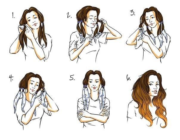 Как сделать омбре в домашних условиях на темных волосах