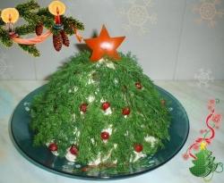 Новогодний <b>салат</b> «Елочка»