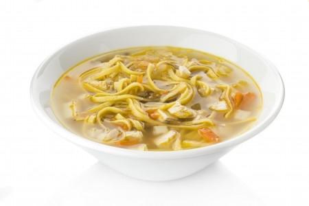 Суп с лапшой и шампиньонами рецепт с фото