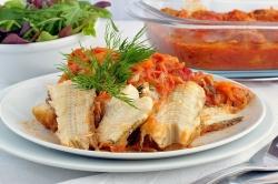 <b>Рыба</b> в овощном маринаде